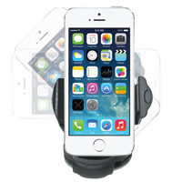 Windshield Mount for Smartphones with 3 - 4.5 inch Screens