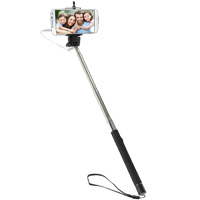 Gearmate Selfie Stick with 3.5mm Wired Remote Shutter