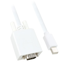 10ft Mini DisplayPort Male to VGA Male Cable