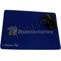 Soft Surface Optical Mouse Pad - Blue (300x225x1.2mm)