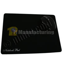 Soft Surface Optical Mouse Pad - Black (300x225x1.2mm)