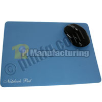 Soft Surface Optical Mouse Pad - Light Blue (300x225x1.2mm)