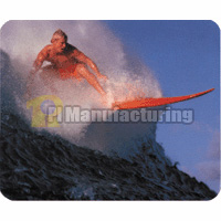 Mouse Pad with Surfing Design, 230 x 180 x 3 mm