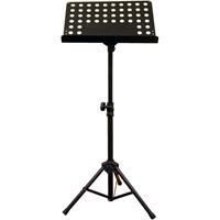 Music Sheet Stand with Adjustable Height and Tilt/Swivel