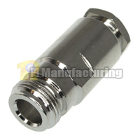 N Female Connector, Clamp Type, for RG213