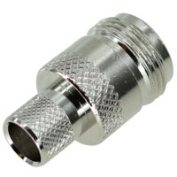 N Female Connector, Crimping for RG213