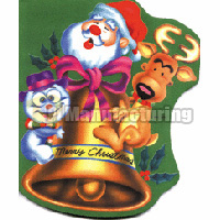 Holiday Themed Rubber Mouse Pad
