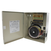 24V AC Power Distribution Box, 9 Ports, 9 Amps