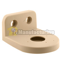 Plastic Dome Camera Mounting Bracket, Beige