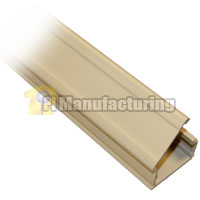 1-3/4 inch Surface Mount Raceway, 6ft, Ivory