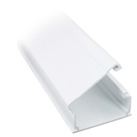1-3/4 inch Surface Mount Raceway - 6ft, White