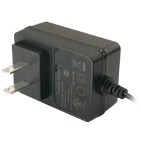 5V DC Power Adapter (2A Output, 120V AC Input, 2.1mm ID /  5.5mm OD) - Regulated