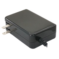 12V DC Power Adapter with 2600mAh UPS (1A Output, 90-264V AC Input, 2.1mm ID / 5.5mm OD)