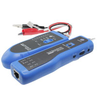 Cable Tester and Tracker for RJ45 and RJ11