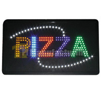Pizza LED Sign 22x13x1.6inch