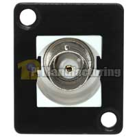 BNC Keystone Type Chassis Mount, Female to Female