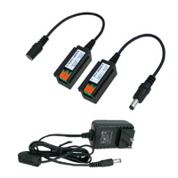 DC12V 1A Extension kit up to 1000 ft with Power Adapter DC-24V