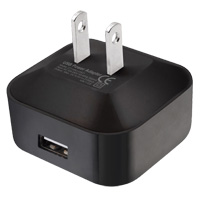 1 Port Wall USB Charger, 10.5W 2.1A