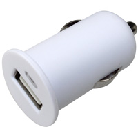 1 Port USB Car Charger for Smartphones, Tablets, and Other USB Devices - 12W 5V / 2.4A