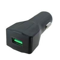 BlueKi 1 Port USB Car Charger with Quick Charge 3.0