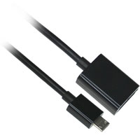 6 inch Micro USB to USB Female Charging and Syncing Adapter Cable for All Samsung Galaxy Products