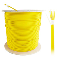 Single-mode 9/125 Bulk Breakout Fiber Cable LSZH 6 Fiber, OD:2.0mm - 305 Meter (1000ft)