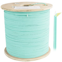 OM4 50/125 Multimode Zip Cord 2 Fiber OD:2mm,305 Meter LSZH