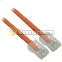 10ft 24AWG Assembly Cat6 Network Cable - Orange