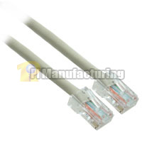 4ft 24AWG Assembly Cat6 Network Cable - Beige