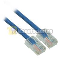 4ft 24AWG Assembly Cat6 Network Cable - Blue