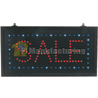 LED Sale Sign, 23inch x 12inch