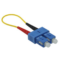 SC Loopback Tester Cable - Single-mode