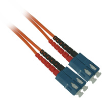 Fiber Optic Cable, SC to SC, Multimode Duplex (62.5/125) - 100 Meter