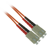 Fiber Optic Cable, SC to SC, Multimode Duplex (62.5/125) - 3 Meter