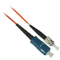 Fiber Optic Cable, SC to ST, Multimode Simplex (62.5/125) - 10 Meter