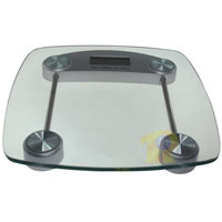 Health Scale, Square, Max Capacity 330lbs