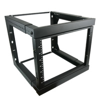 20U Swing-Out Wall Mount Rack Adjustable Depth