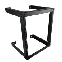 12U Fixed Open Frame Wall Mount Rack