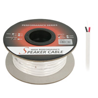 50ft 16AWG 2 Wire CM Rated (Higher Rating than CL2 and CL3) Speaker Wire Cable (For In-Wall Installations)