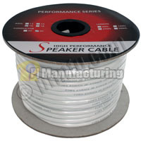 250ft 16AWG 4 Wire CM Rated (Higher Rating than CL2 and CL3) Speaker Wire Cable (For In-Wall Installations)