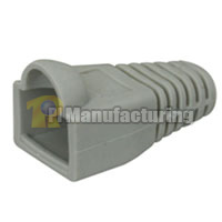 Strain Relief Boot for Cat6a - Grey