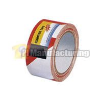 Hazard Warning Tape PVC Coated with Pressure-Sensitive Glue 1.88inch x 150ft