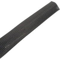 Fray Resistant Expansion Sleeving, Clean-Cut, 1.25 inch, 50ft