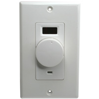 Volume Control with IR Receiver Wall Plate