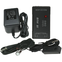 IR Repeater Kit with IR Hub, Emitter and Receiver