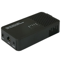 Bluetooth Audio Amplifier with 3.5mm Input, IR Learning, Audio Extender, and Voice Assistant Control (Google or Amazon)