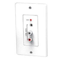 Wall Plate Type Stereo Audio Transmitter By Cat5/6, For TTA-1448A, Power Source is From TTA-1448A