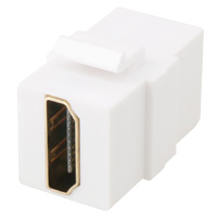 HDMI Coupler Keystone, Female to Female for P-KS Wall Plate Series