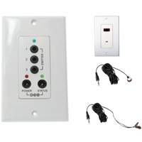 IR Repeater Connecting Kit (TTA-1139W + TTA-1140D + TTA-1141 + TTA-1142)