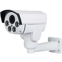 3MP Bullet Camera, 2.8-12mm Varifocal Motorized Lens, 4 x Zoom and Focus, Supports 3MP HD-TVI, 2.1MP HD-TVI, 2.1MP AHD, and CVBS